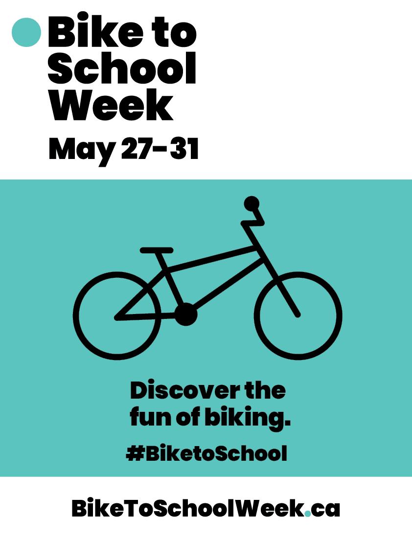 Bike to School Week May 27-31 2019