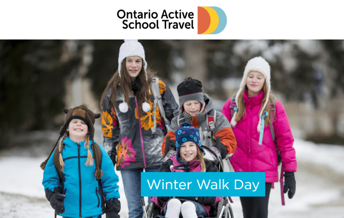 Winter Walk Day is Wednesday, February 5, 2020!
